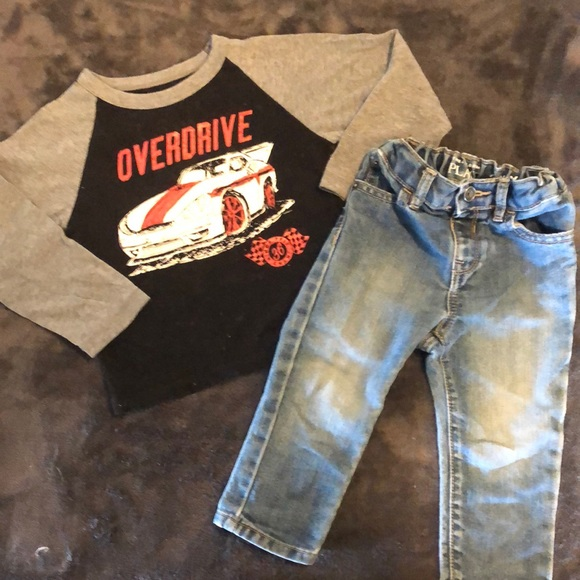 The children's place 18-24 month outfit